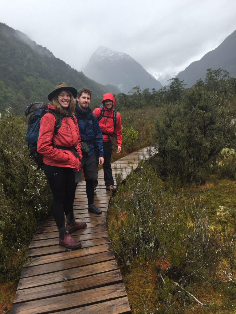 Hiking New Zealand on the Milford Track