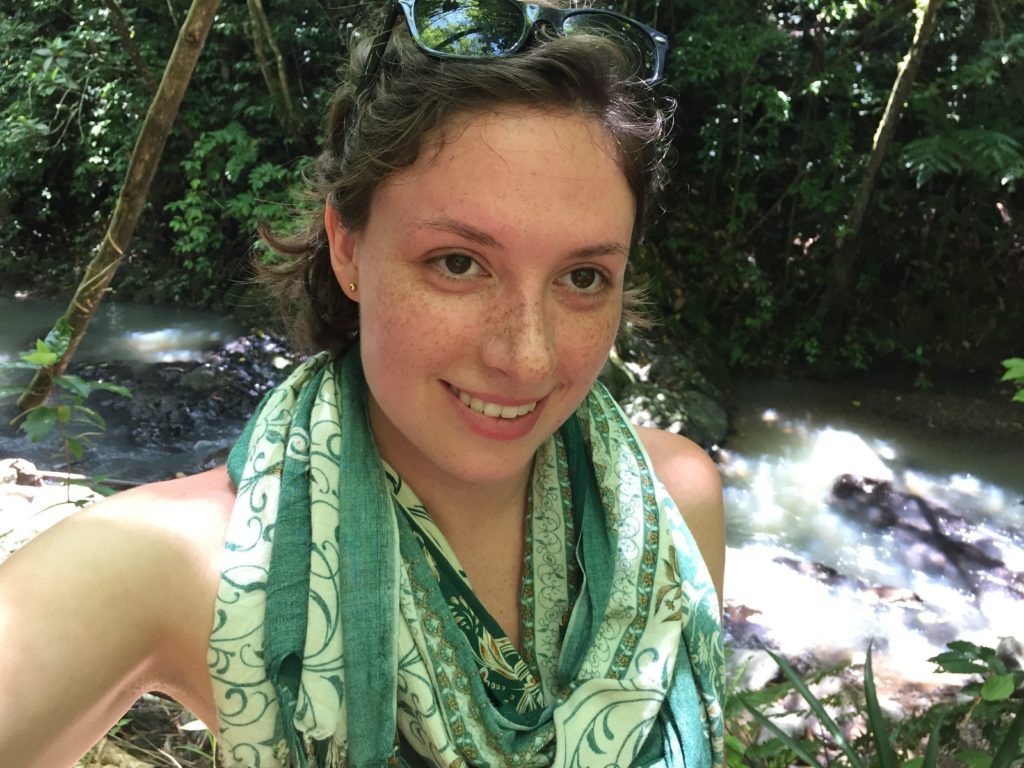 My glazed hot face while hiking in Fiji
