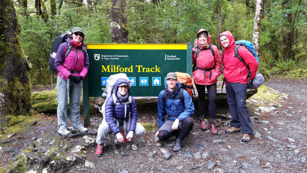 The Milford Track Starting Point