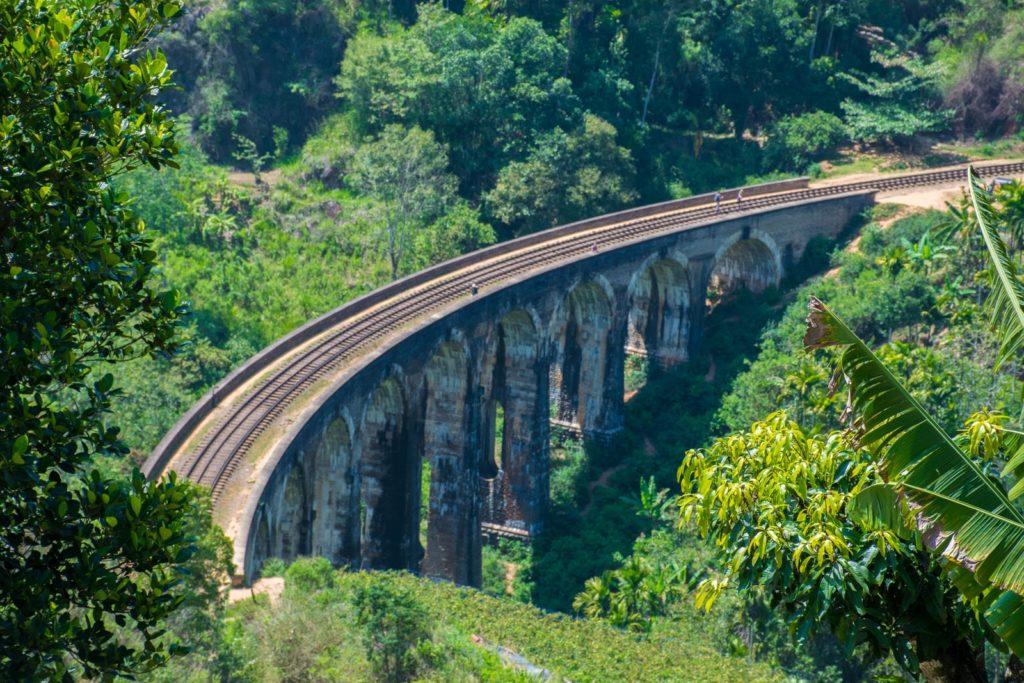 9 Arches Bridge in Ella on a Sri Lanka 3 week itinerary