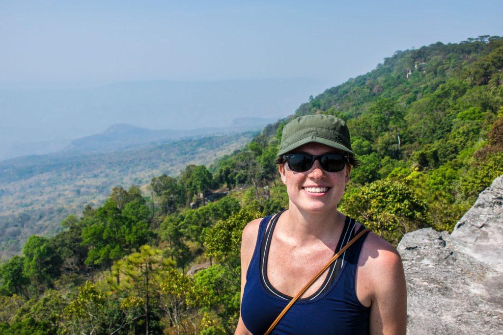 Yeab Mek cliff in Thailand