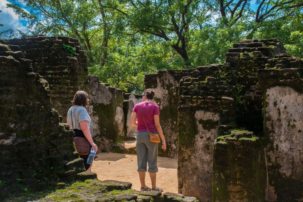 Polonnaruwa on our 3 week Sri Lanka itinerary