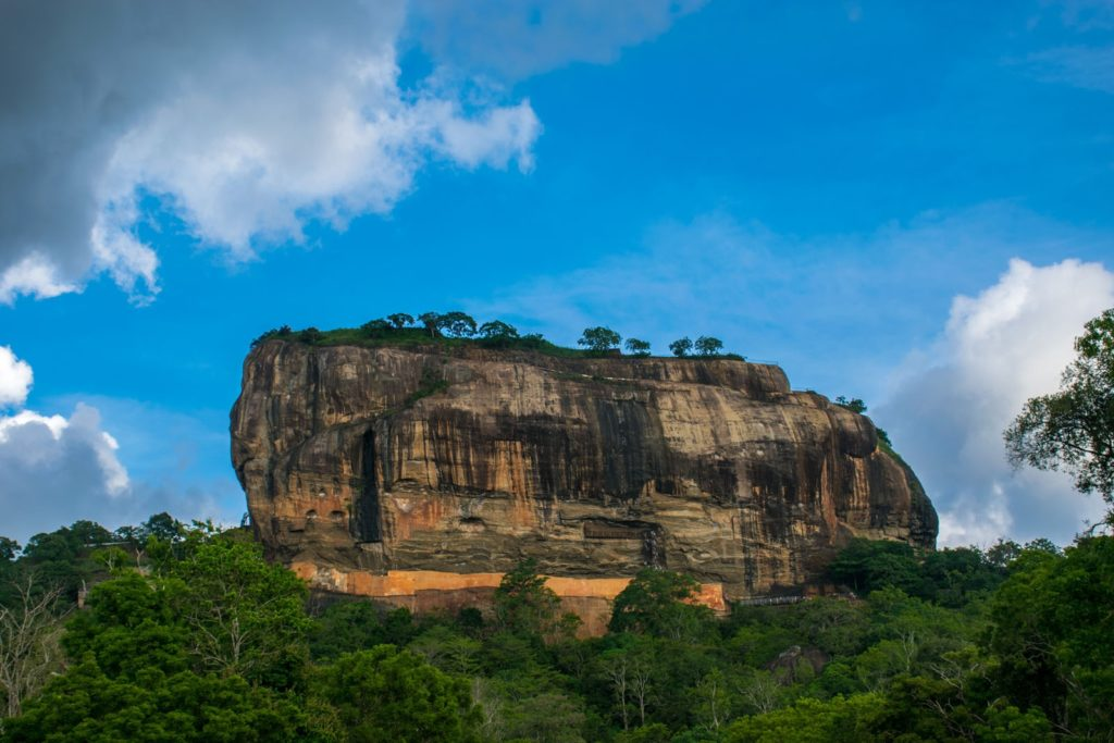 Sigiriya on a Sri Lanka 3 week itinerary