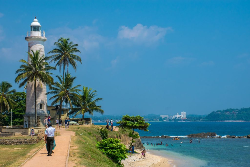 Galle Fort Walls on a Sri Lanka itinerary