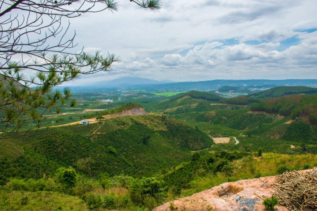 Valley of Love View while spending 3 days in Dalat
