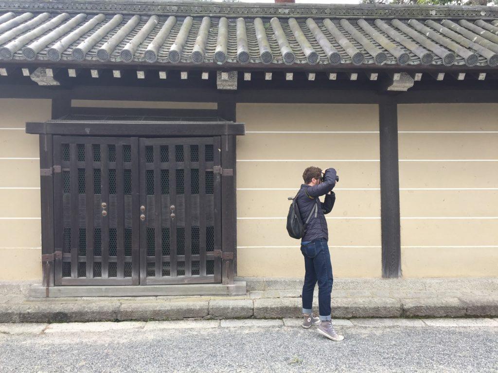 wandering around kyoto while spending two weeks in Japan