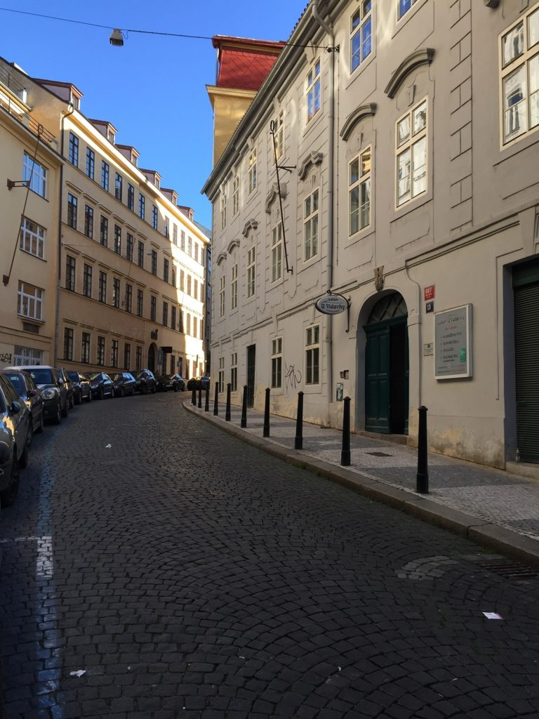 Quiet streets of Prague