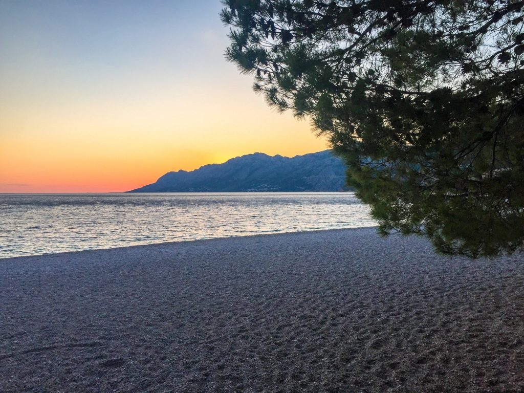 Beaches on the Dalmatian Coast