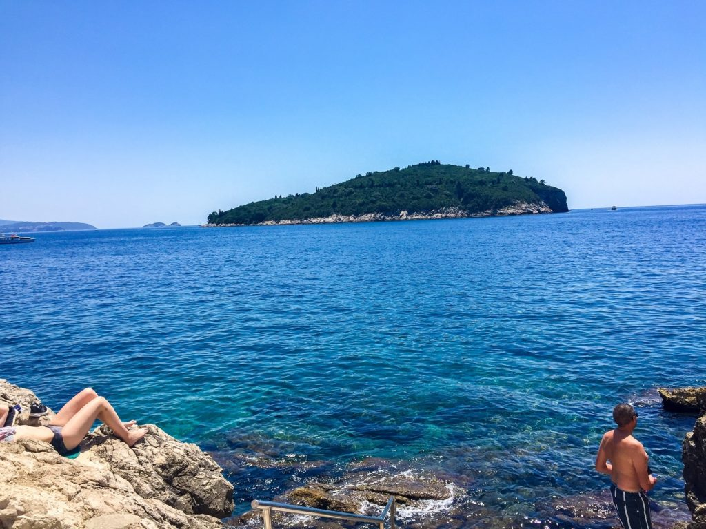 A 2 week Croatia itinerary should include a trip to Lokrum island