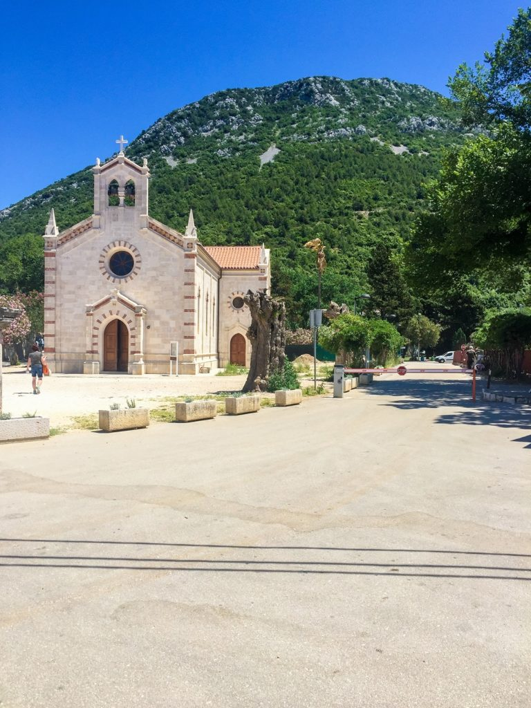 Ston on the Dalmatian Coast, Croatia