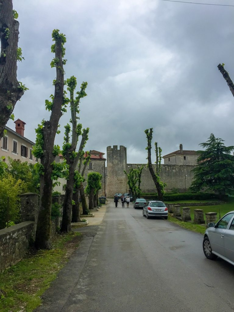 Svetvinčenat's castle in Istria, Croatia