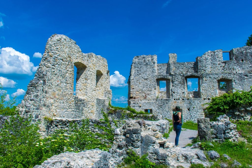 Ruins in Samobor, Croatia we saw on our Croatia vacation