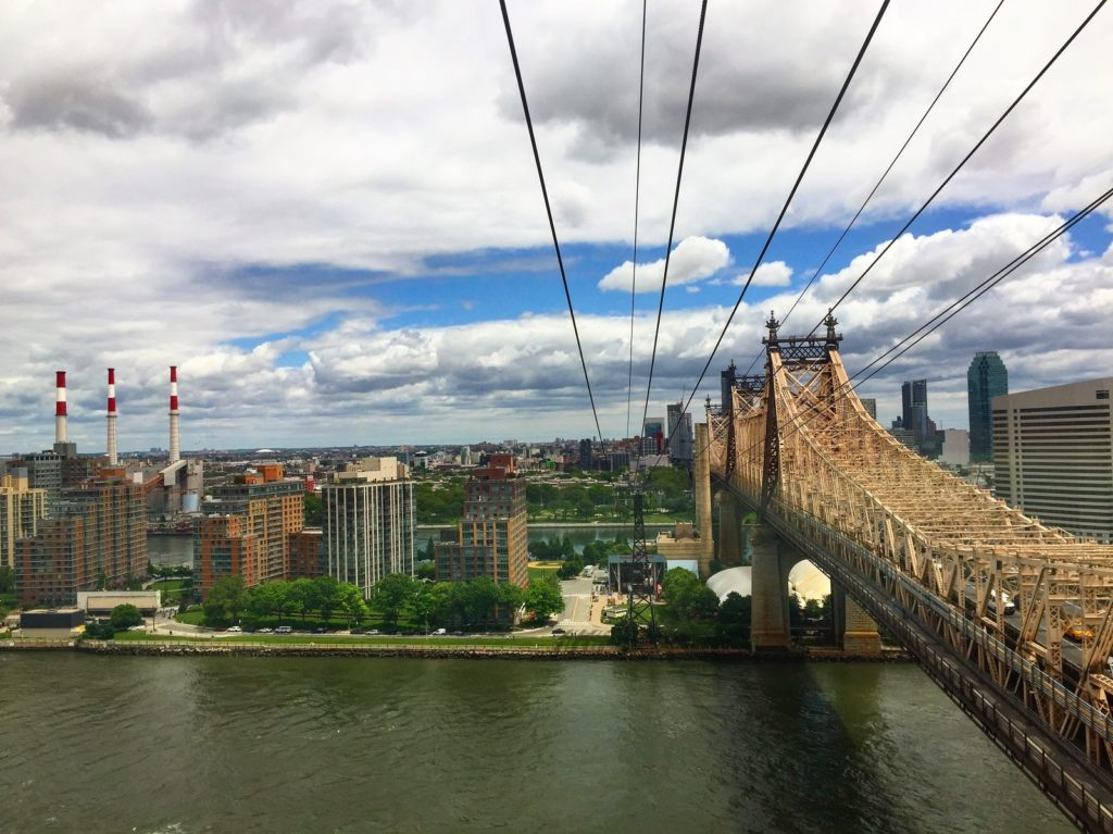 Roosevelt Island tram in New York City