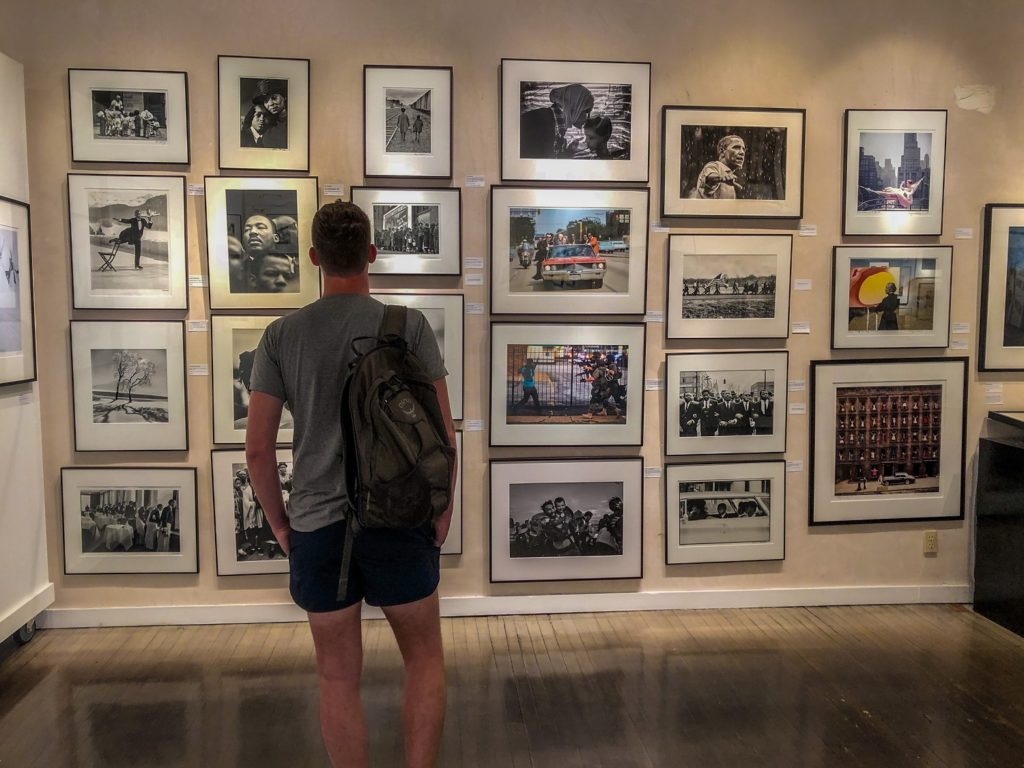 Photography gallery in Santa Fe, NM