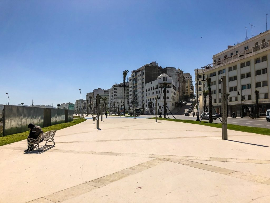The new area of Tangier