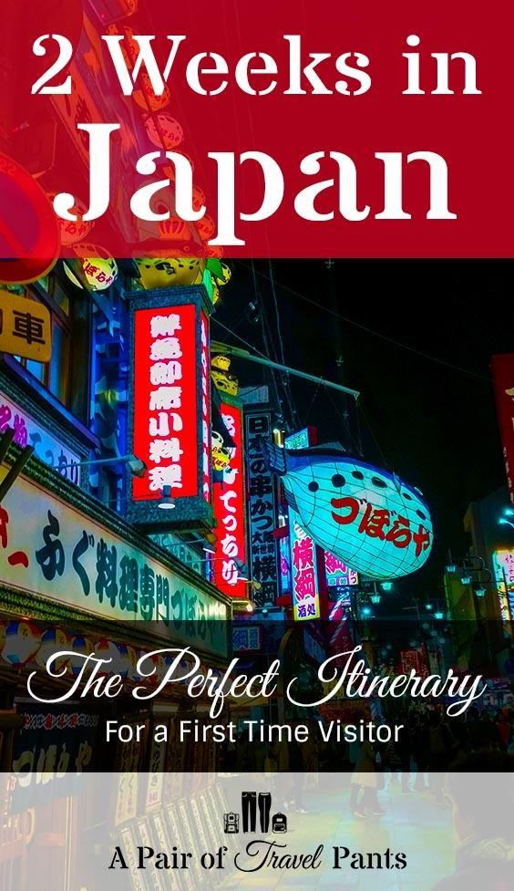 Pinterest Card for 2 Weeks in Japan