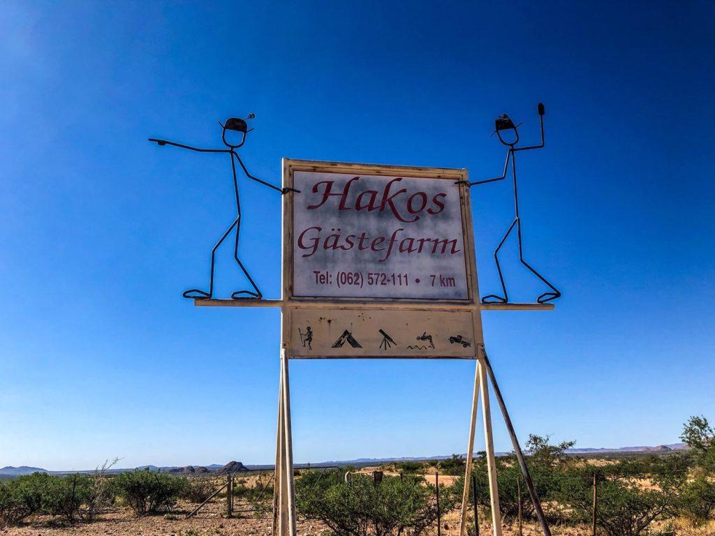 Hakos guest farm in Namibia