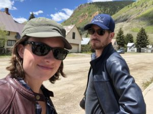 Natalie and Jackson in Colorado