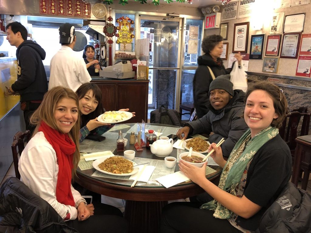 One of the best places to eat in NYC on a budget: Great NY Noodle Town.