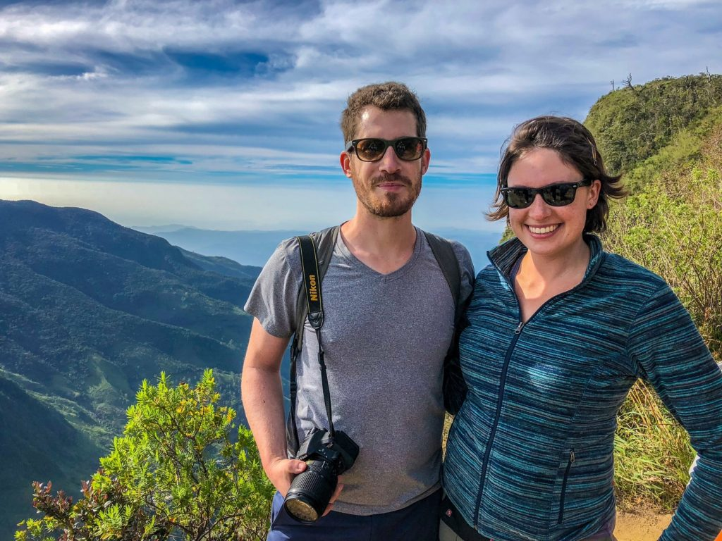 World's End in Horton Plains on our Sri Lanka 3 week itinerary