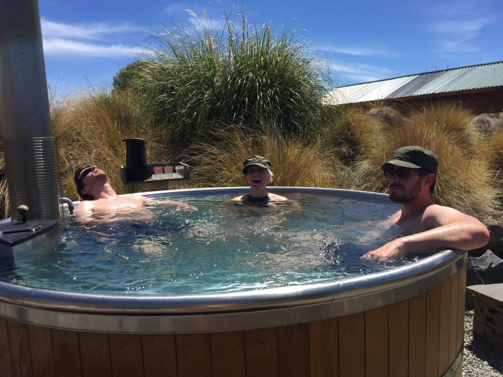 Self Drive New Zealand and stop in a hot pool on your way to Tekapo