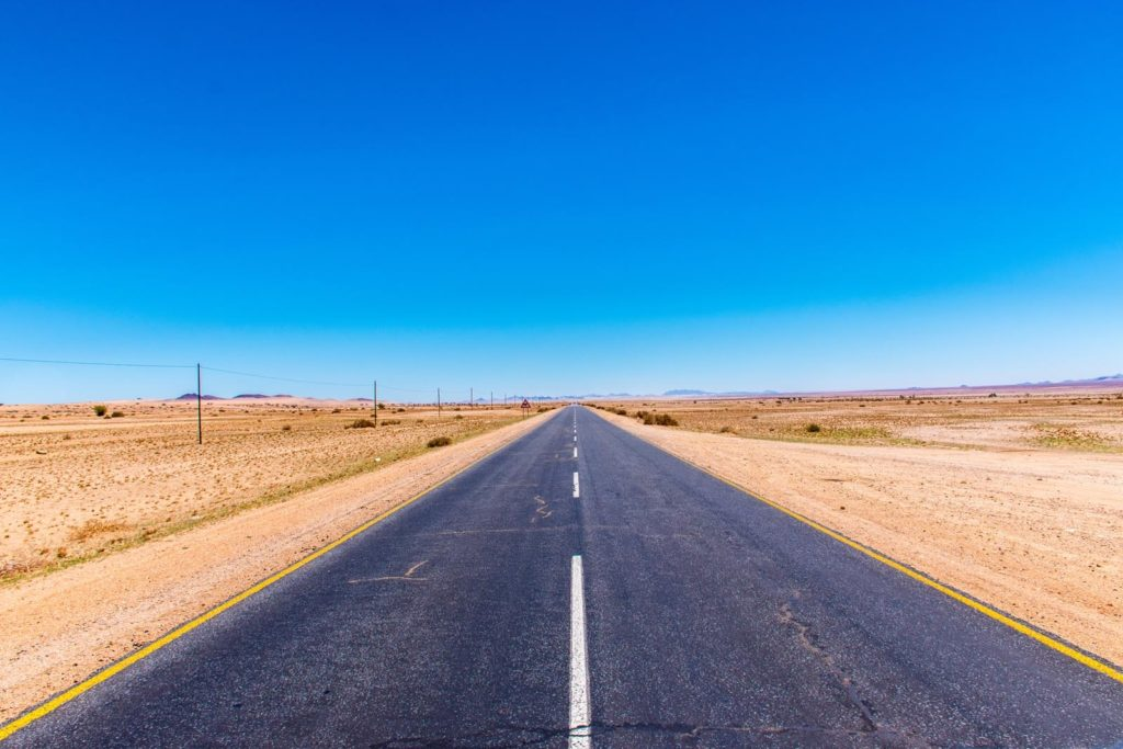 self drive Namibia as a road trip destination
