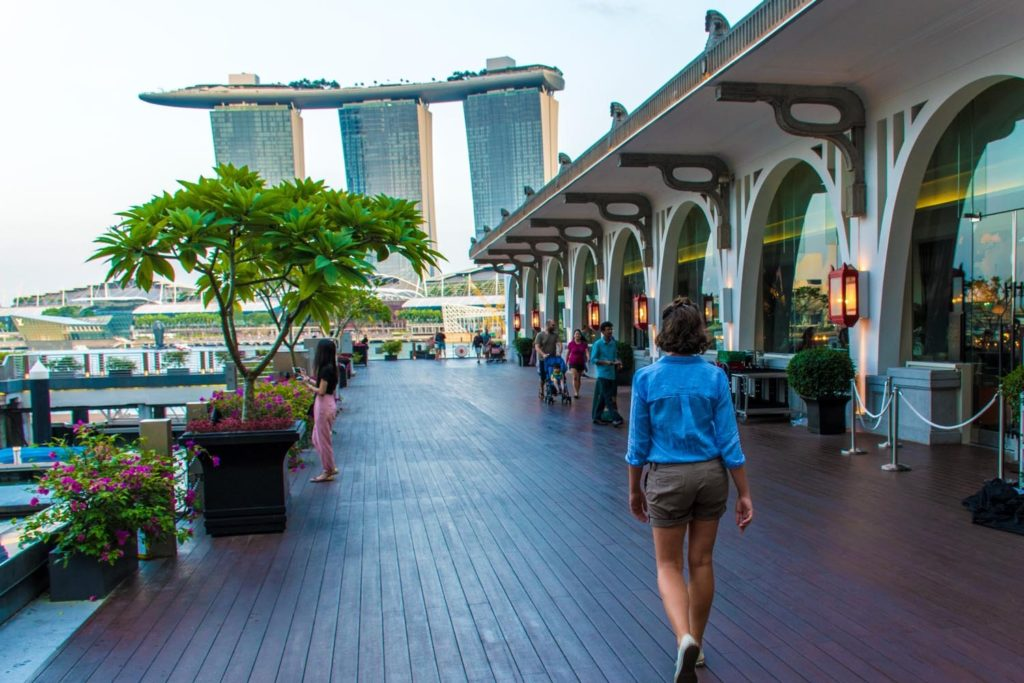 What to do in Singapore in 4 days: visit the Marina Bay Sands
