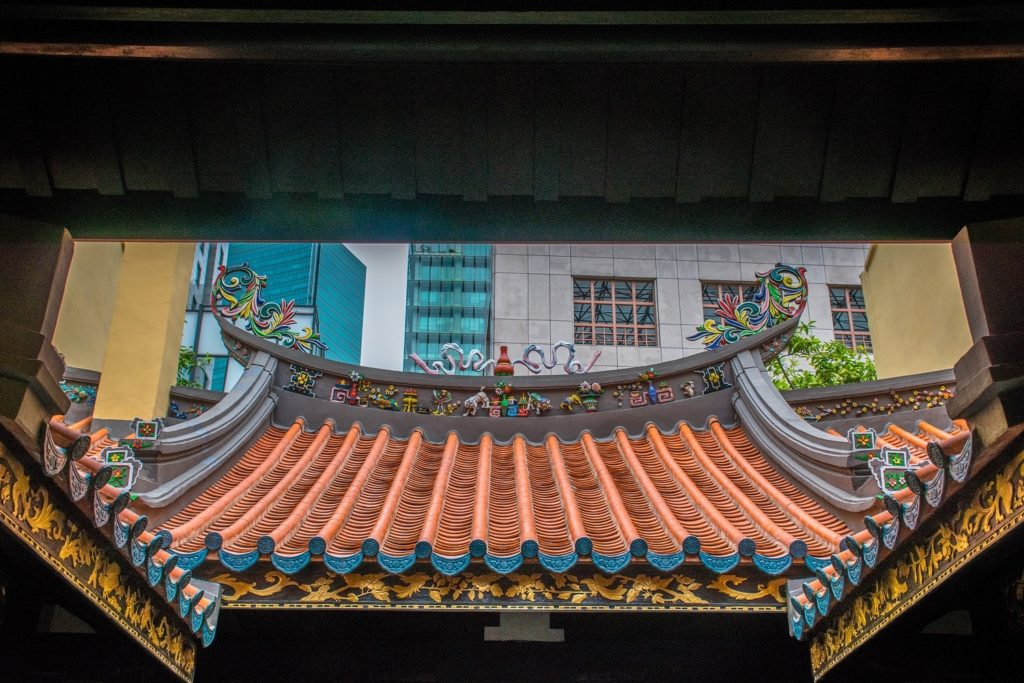 Thian Hock Keng Temple a part of 4 days in Singapore