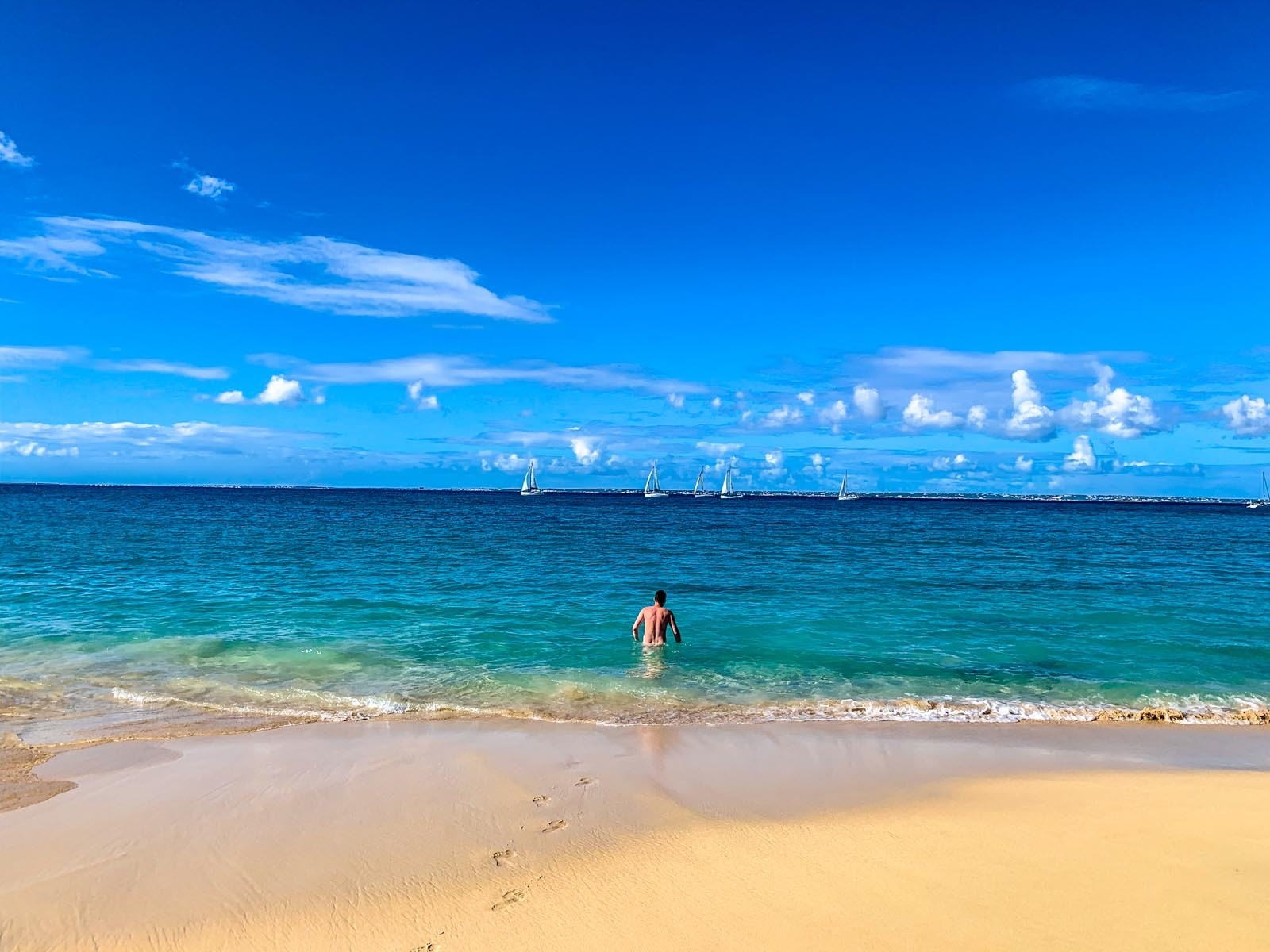 St Martin Nude Beaches Why Orient Bay Beach Isnt Your -5134