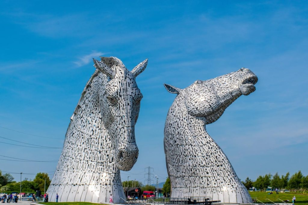 See the Kelpies on your Scotland Itinerary