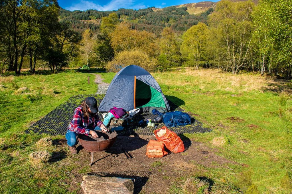 What to bring to camp in Scotland