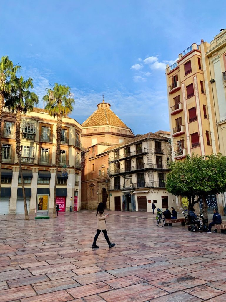 2 days in Malaga during the week is a quieter city