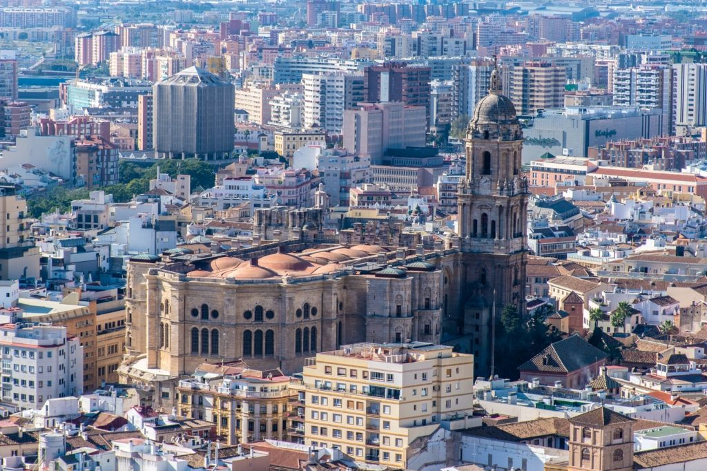 a weekend in Malaga means seeing the Malaga Cathedral